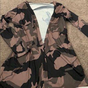 Jackets & Blazers - Camo jacket NWT